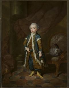 Portrait of Henirich Reuss