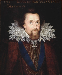 Portrait of James I (1566-1625), King of England