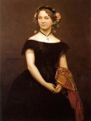 Portrait of Mademoiselle Durand