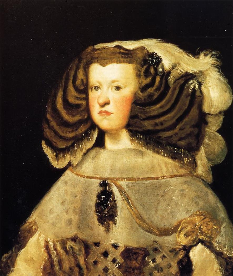 Portrait of Mariana of Austria, Queen of Spain