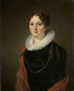 Portrait of Marie Allebé-Herckenrath, Grandmother of the Painter August Allebé