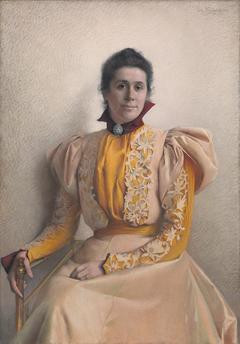 Portrait of Marthine Cappelen Hjort, b. Kiær