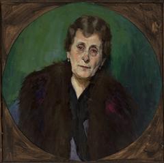 Portrait of Mrs. M.G.