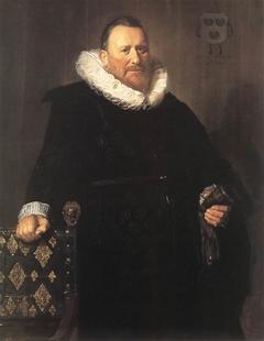 Portrait of Nicolaes Woutersz van der Meer