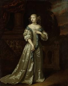 Portrait of Philippina Staunton, Wife of Roelof van Arkel (1632-1709), lord of Broeckhuijsen