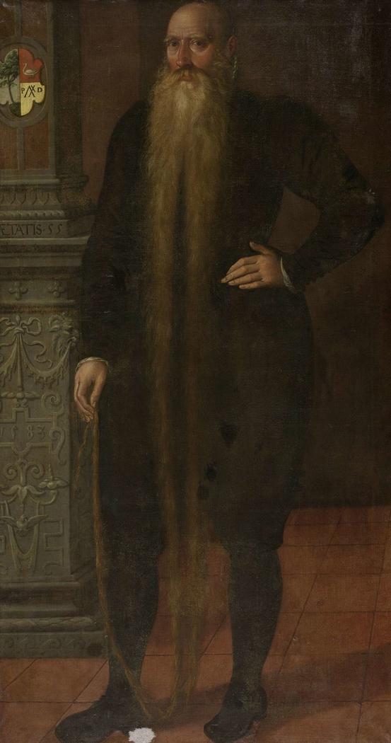 Portrait of Pieter Dircksz, called Long Beard, Council Member of the Orphan Chamber in Edam
