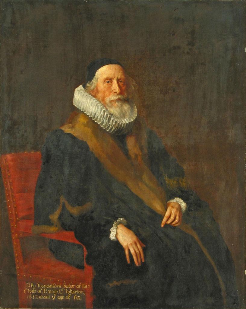 Portrait of Sir Rowland Wandesford (circa 1570 - after 1683)