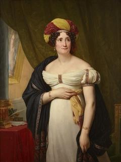 Portrait of Sophie Gay