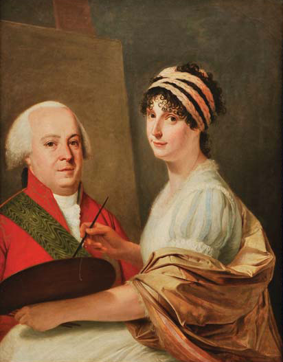 Portrait of the Count and Countess of Linhares