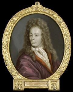 Portrait of Tobias Gutberleth, Man of Letters in Leeuwarden