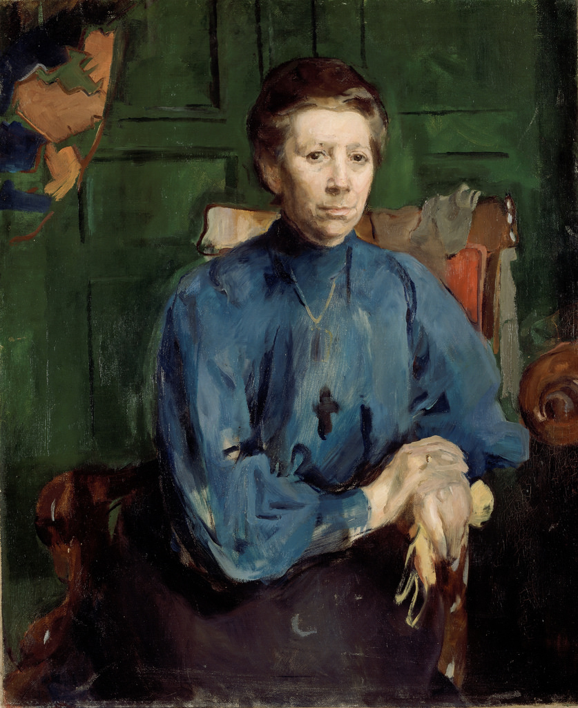 Portrait of Vedastine Aubert