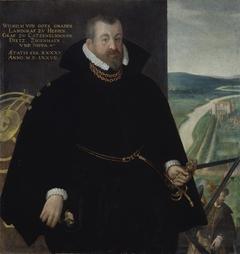 Portrait of Wilhelm IV 'the Wise' of Hesse-Kassel (1532-1592)