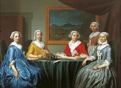 Regentesses of the St. Elisabeth Gasthuis 1740