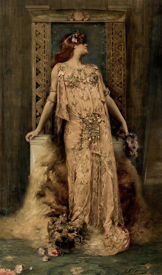 Retrato de Sarah Bernhardt