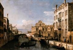 Rio dei Mendicanti with the Scuola di San Marco
