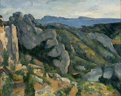 Rochers à l'Estaque (Rocks at L'Estaque)