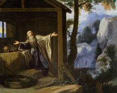 Saint Arsenius Leaving the World