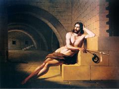 Saint John the Baptist in prison