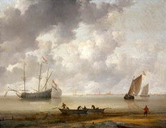 Seascape with Boats