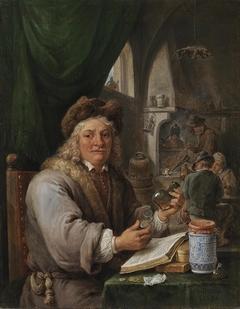 Self-portrait as an alchemist