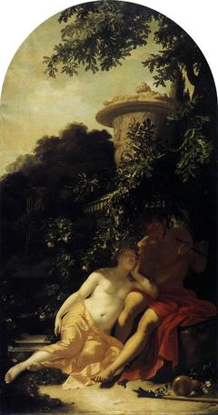 Shepherd and Shepherdess in Love