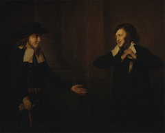 """Shylock and Tubal from """"The Merchant of Venice"""""""