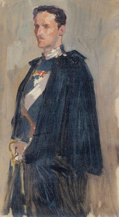 Skecth for the Portrait of Prince Carl