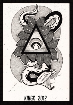 Snake/ All Seeing Eye