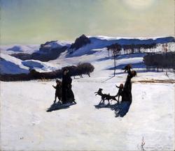 Snow Fields (Winter in the Berkshires)
