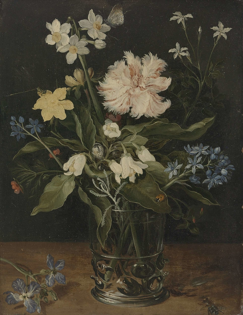 Still Life with Flowers in a Glass