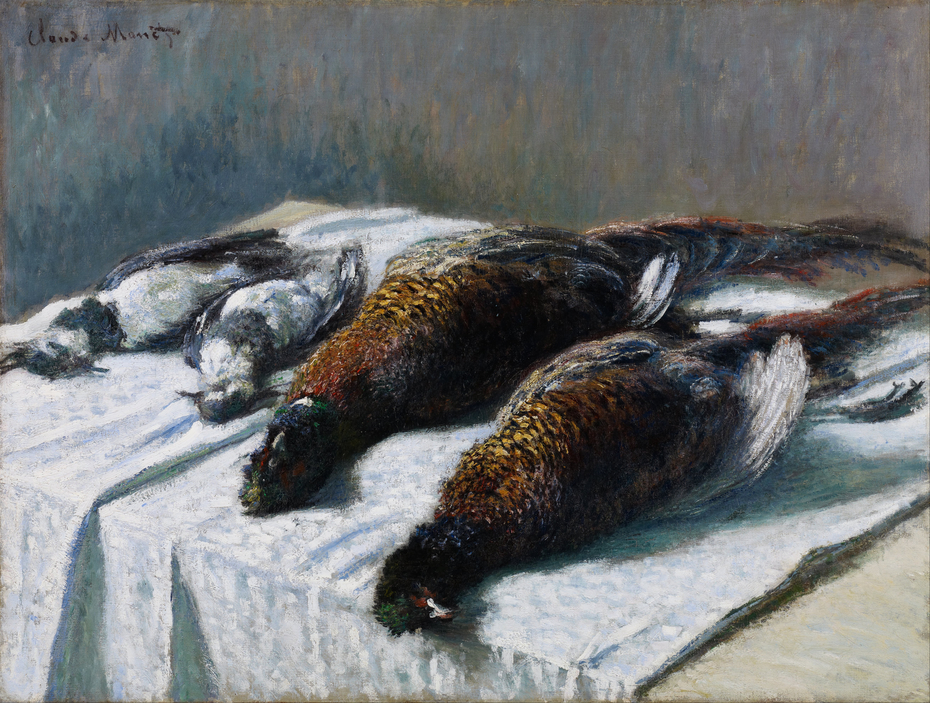 Still Life with Pheasants and Plovers