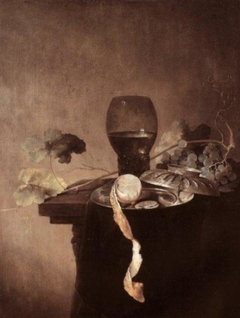 Still Life with Rummer, Grapes, and Lemon