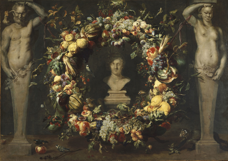 Still Life with Terms and a Bust of Ceres