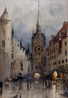 Street Scene in Munich