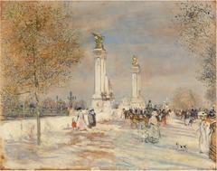 The Alexander III Bridge, Paris