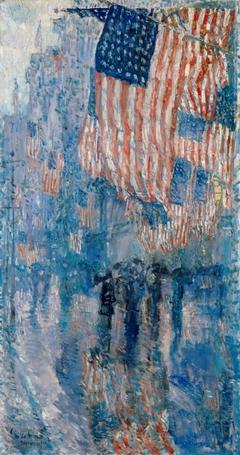 The Avenue in the Rain