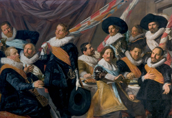 The Banquet of the Officers of the St George Militia Company in 1627