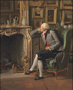 The Baron de Besenval in his Salon de Compagnie