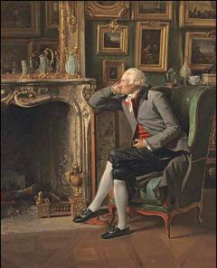 The Baron de Besenval in his Salon de Compagnie