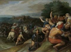 The Batavians Surround the Romans at Vetera