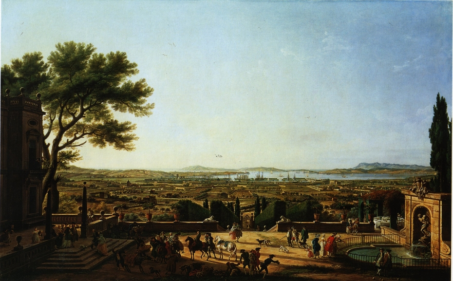 The City and Bay of Toulon