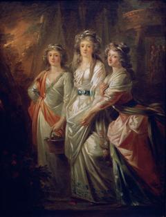 The Countesses Elisabeth, Christiane, and Marie Karoline von Thun