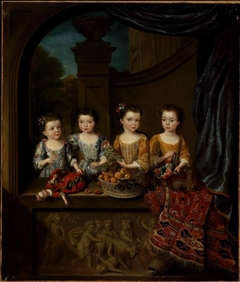 The daughters of Sir Matthew Decker, Bart.