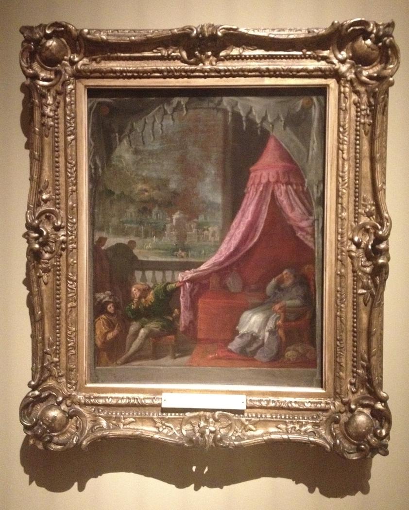 The Dream of Saint Hugh, Bishop of Grenoble