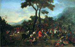 The gathering of the hunters