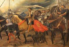 The Plague makes the Castillians lift their Siege over Lisbon