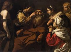 Tobias heilt seinen blinden Vater