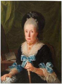 Tomasa de Aliaga, widow of Manuel Pablo Salcedo