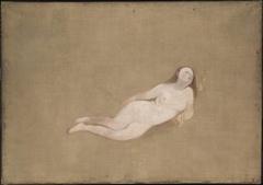 Two Recumbent Nude Figures
