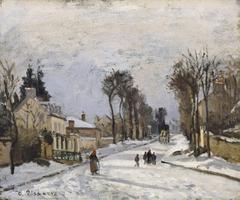 Route to Versailles, Louveciennes